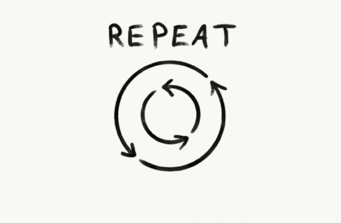 Sức mạnh của việc lặp đi lặp lại