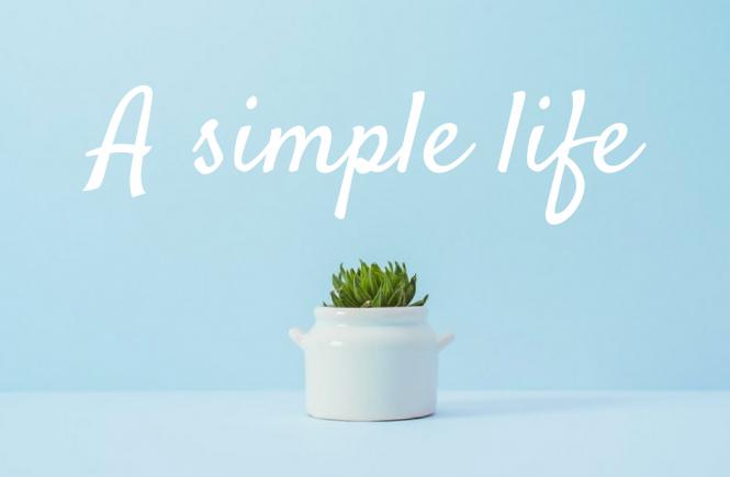 Những bài học về lối sống đơn giản
