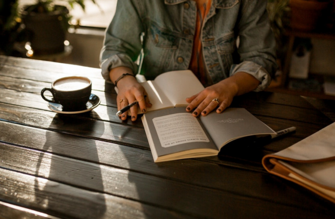 take note khi đọc sách