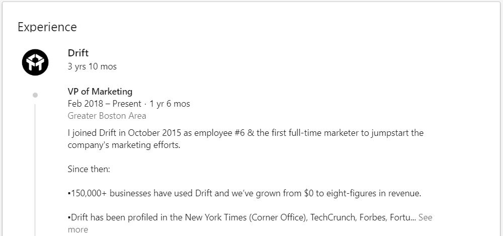 Tìm việc qua LinkedIn
