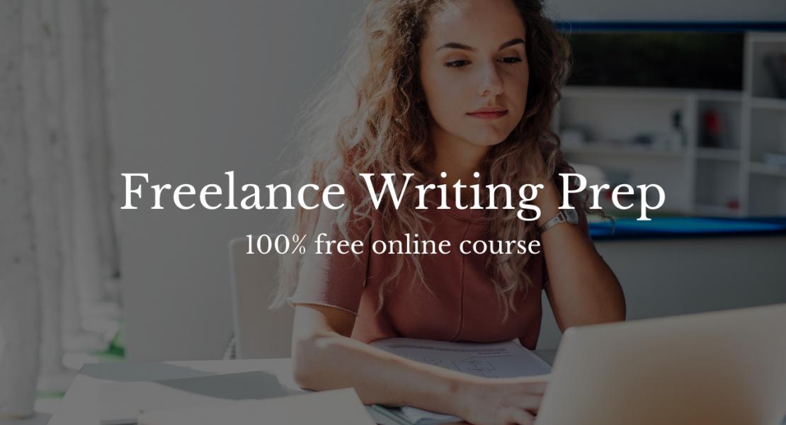 freelance writing prep
